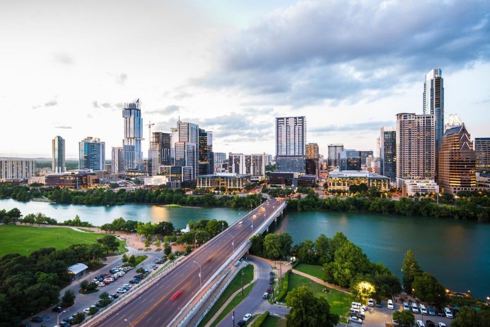 A photo of Austin, Texas.