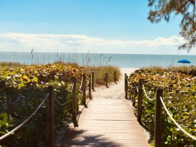 A beach camping spots in Florida