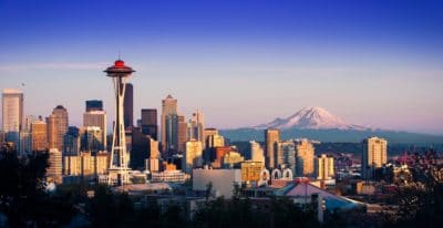 A picture of Seattle.