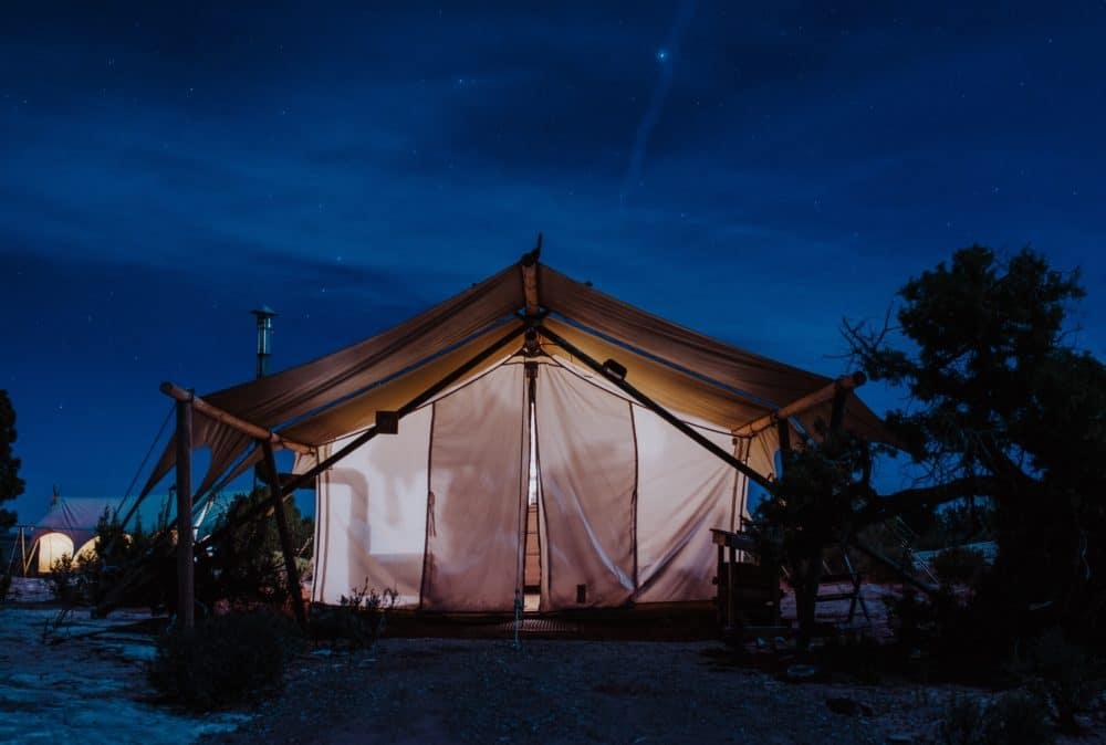 A tent.