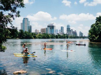 A photo of Austin, Texas