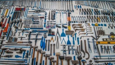 A collection of tools.