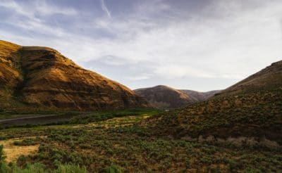 This is Cottonwood Canyon in north-central Oregon. It's a beautiful and seldom-visited region and one of my favorites. This part of Oregon.