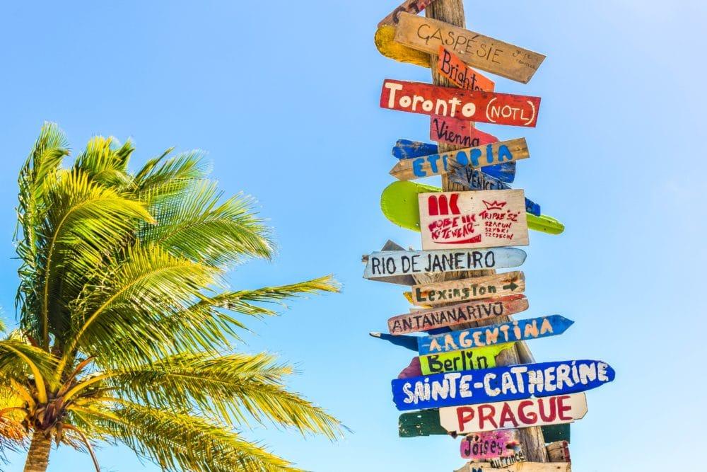 Long Bay Beach, Turks and Caicos Islands.