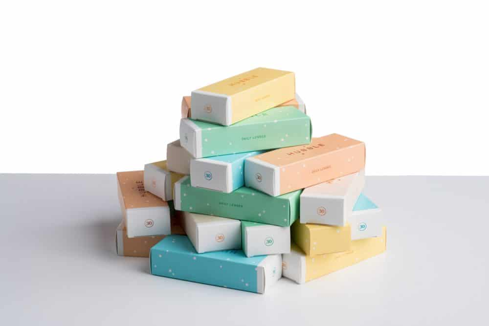 A stack of bars of soap.