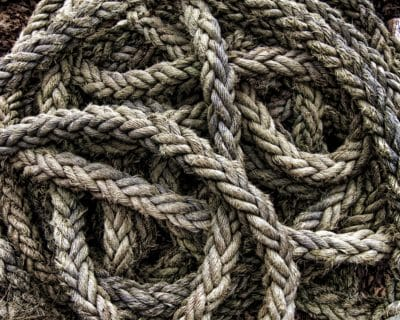 A bunch of rope.