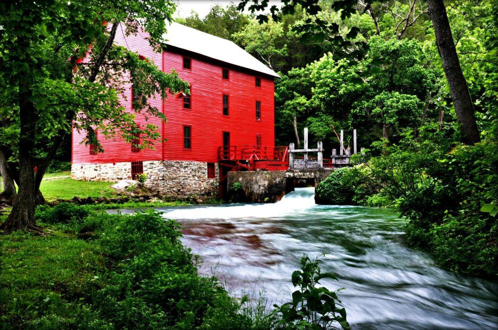 watkins woolen mill state park