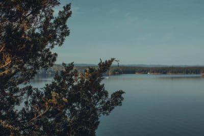 Lake Quachita in Arkansas.
