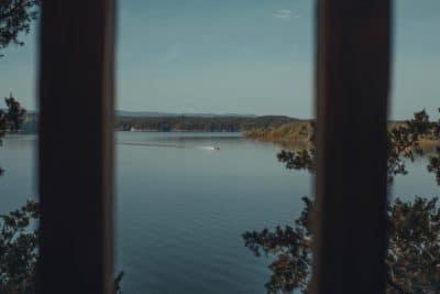 A lake in Arkansas.