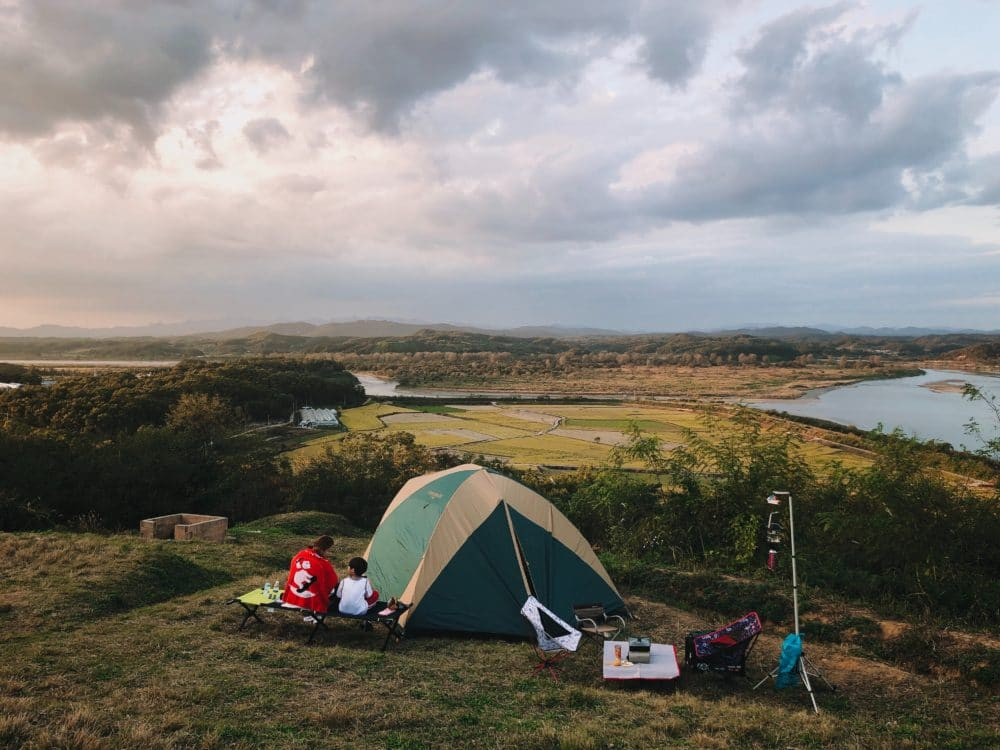 Bring a tent big enough for the family, and share lifelong memories on the trails.