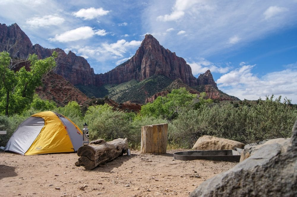 Get a good backpacking tent to reach great sights.