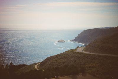 A cove in California.