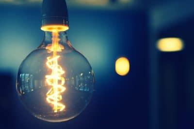 An Edison lightbulb.