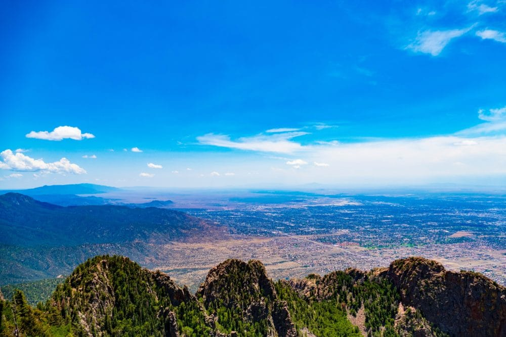 A view of New Mexico.