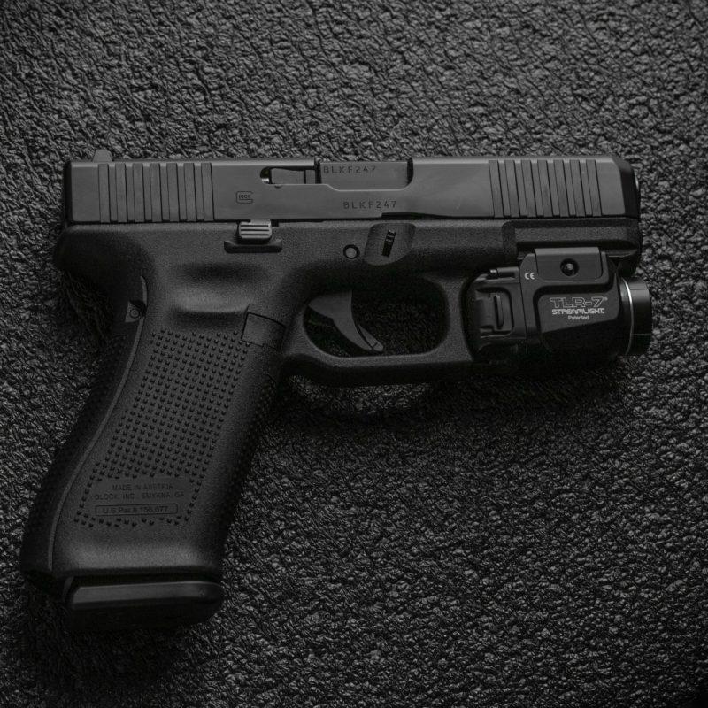 A Glock gun.