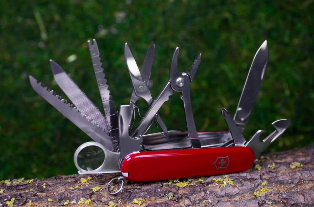A Swiss army knife.