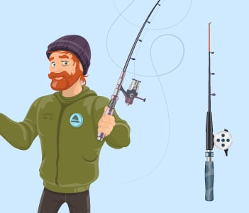 21.Setting up your rod
