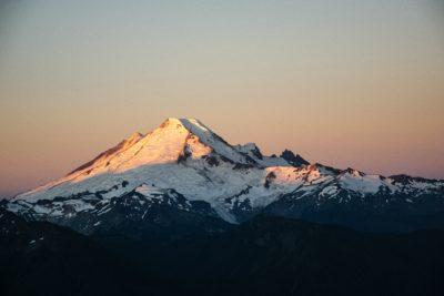 Mt. Baker, Washington.
