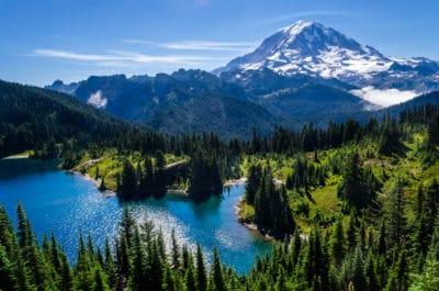 Mount Ranier, Washington.