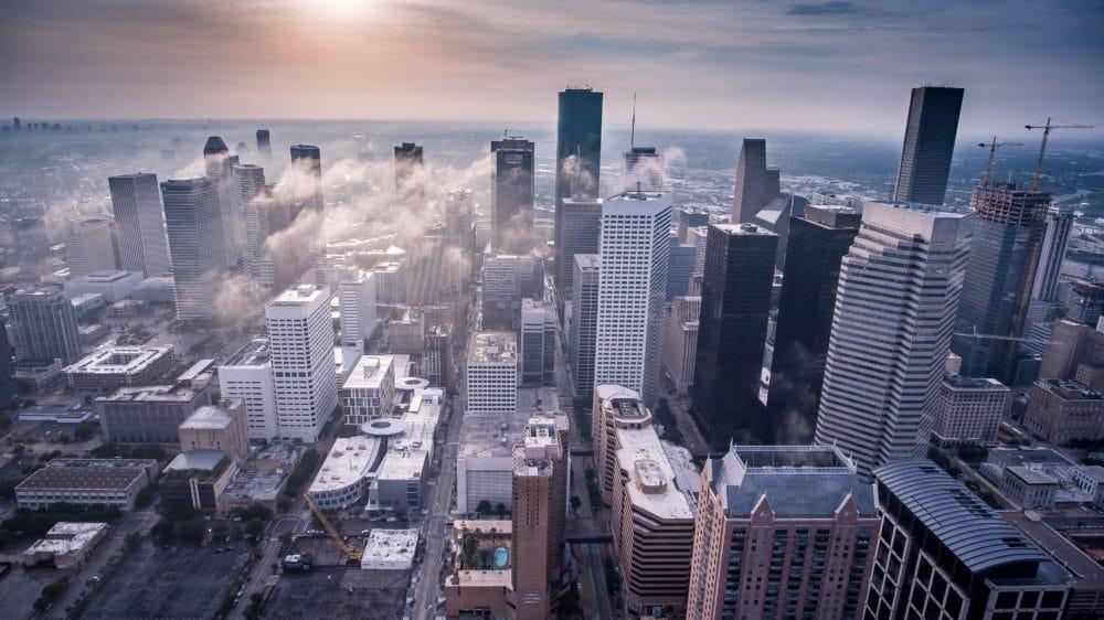A view of Houston, Texas.