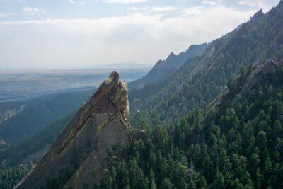 Colorado's iconic Flatirons