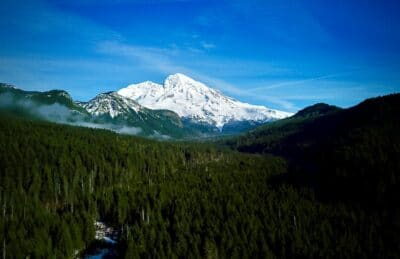 A view from Mountain Loop highway.