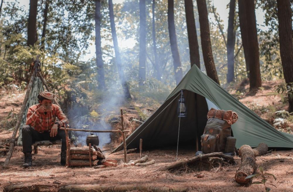 pioneer camping