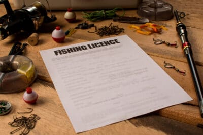Fishing licence or fishing permit
