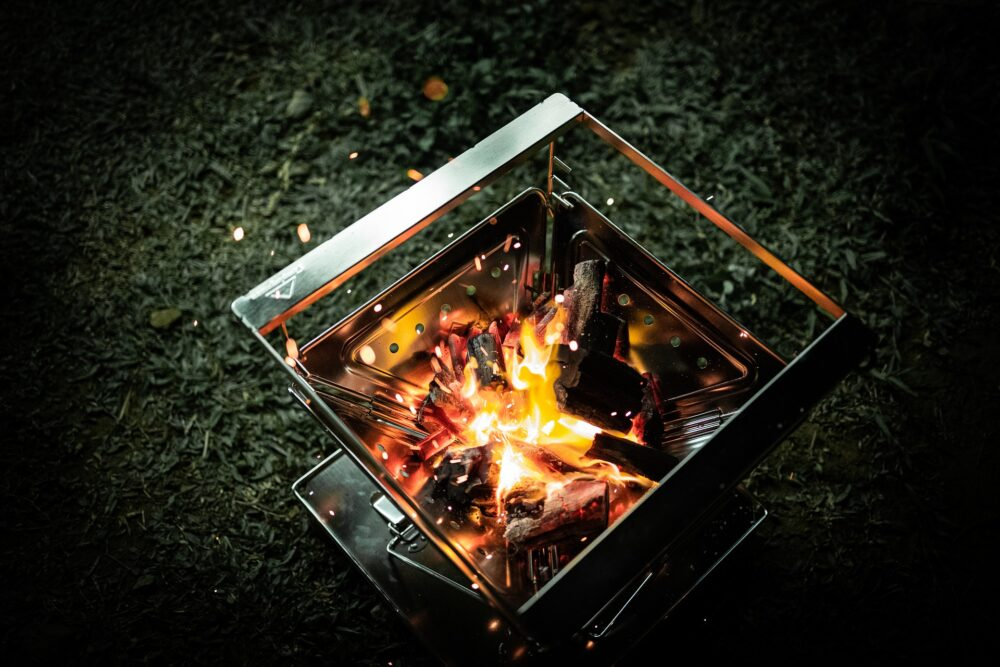 fire pit for camping