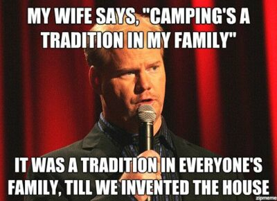 20 of the Best Camping Memes On The Internet - Mpora