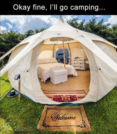 50 Funny Camping Memes to Make to Giggle & Inspire To Go Outside